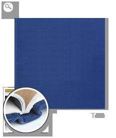 Reliure : reliure toile bleue