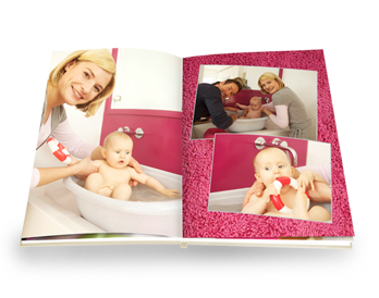 LIVRE PHOTO CEWE A4 SUR PAPIER PHOTO MAT