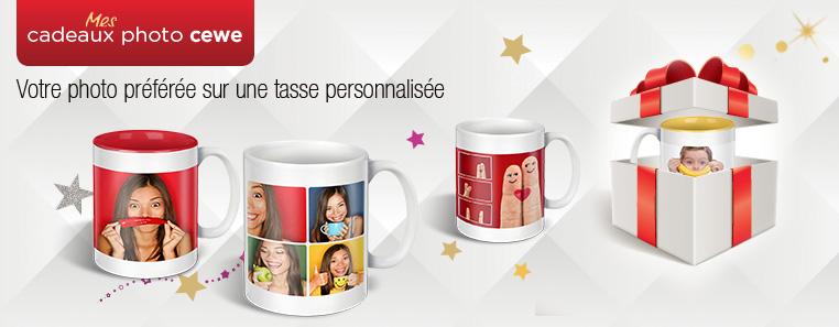 Cadeaux photo tasses