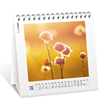 Calendrier photo de bureau 14*14