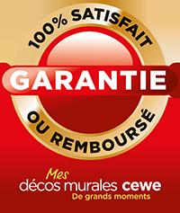 Garantie 100% - Satisfait ou remboursé