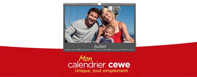 Calendriers CEWE