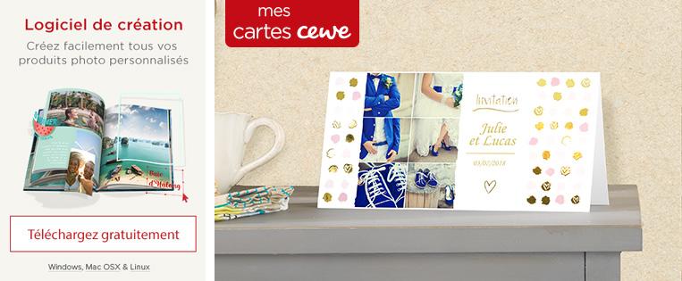 CARTES CEWE – Pour les grandes occasions.