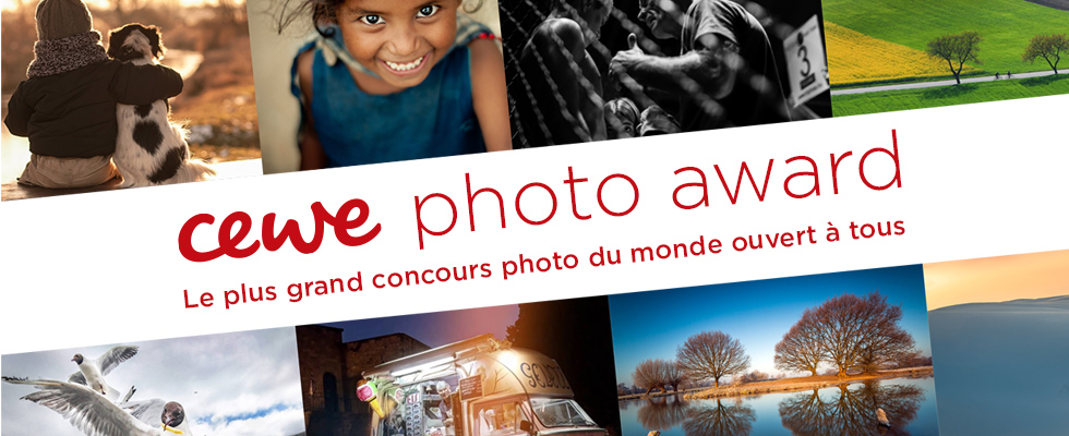 Participez au CEWE PHOTO AWARD