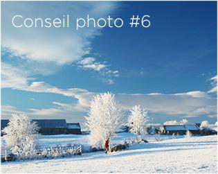 Conseils photo #6 : Photographier l'hiver