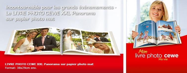 ALBUM SUR PAPIER PHOTO XXL mat