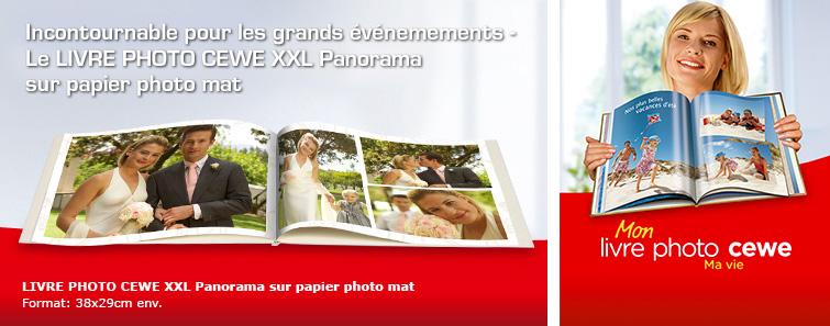 ALBUM SUR PAPIER PHOTO XXL mat