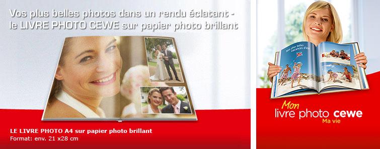 ALBUM PHOTO A4 PORTRAIT SUR PAPIER PHOTO BRILLANT