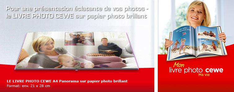 Album sur papier photo A4 brilliant paysage