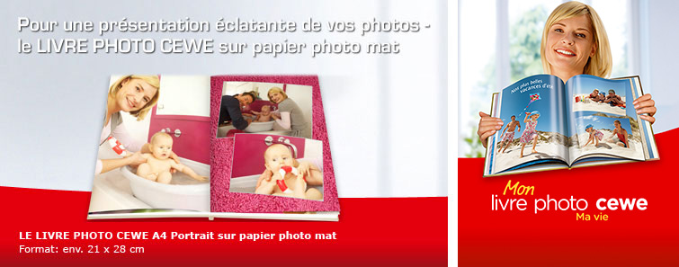 LIVRE PHOTO CEWE sur papier photo