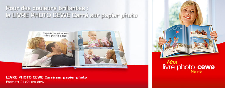 ALBUM SUR PAPIR PHOTO carré