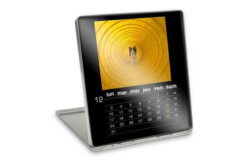 Informations sur le calendrier décoratif