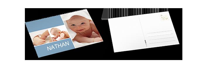 Cartes postales classiques directement expédiée