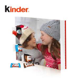 Calendrier photo de l'Avent Kinder®