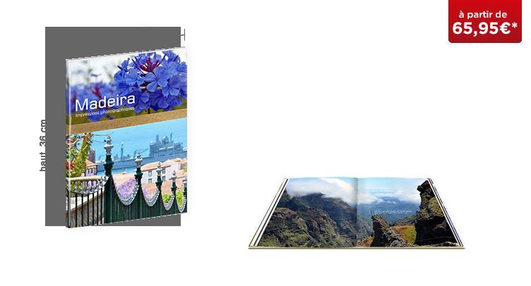 LIVRE PHOTO CEWE XXL Portrait : Papier mat Premium