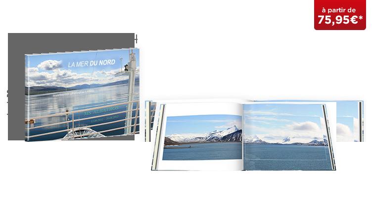 LIVRE PHOTO CEWE XXL Panorama : Papier mat premium