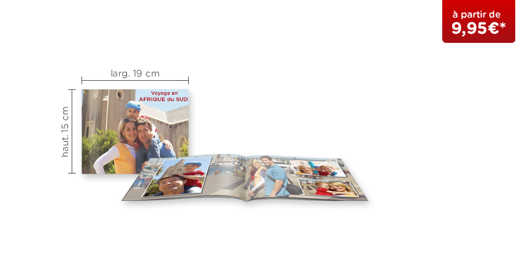 LIVRE PHOTO CEWE A5 Panorama : couverture carnet