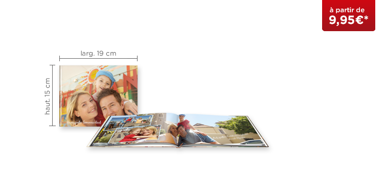 LIVRE PHOTO CEWE A5 Panorama : couverture rigide