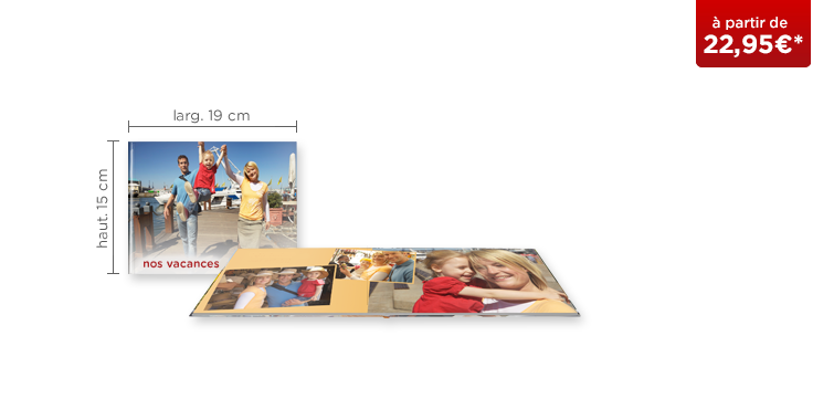 LIVRE PHOTO CEWE A5 Panorama : papier photo mat
