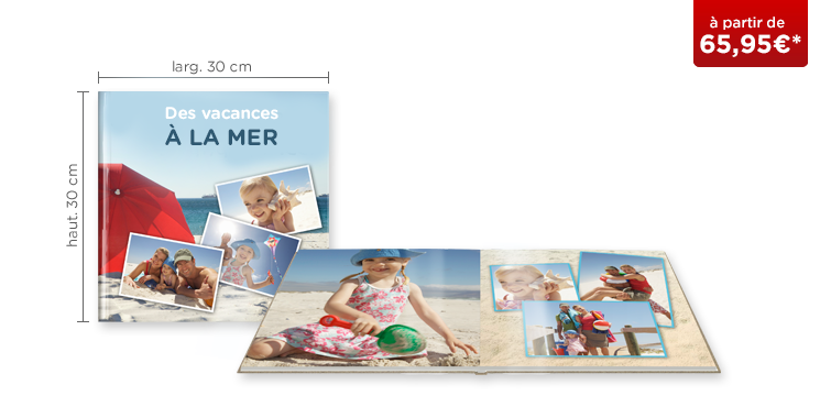 LIVRE PHOTO CEWE XL : papier photo brillant