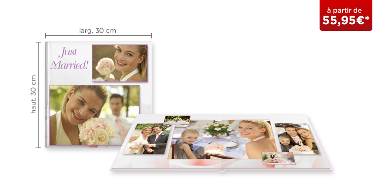 LIVRE PHOTO CEWE XL : papier photo mat