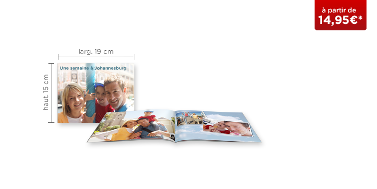 LIVRE PHOTO CEWE A5 Panorama : couverture souple