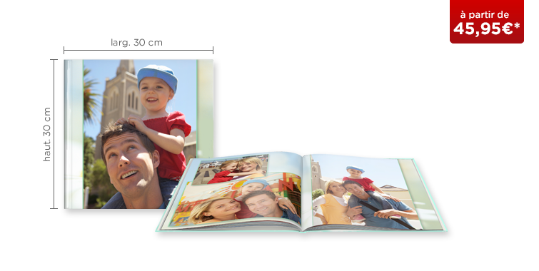 LIVRE PHOTO CEWE XL : couverture rigide
