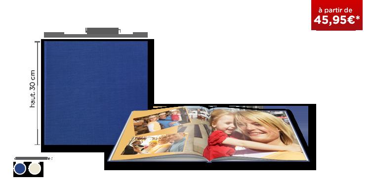 LIVRE PHOTO CEWE XL : couverture toile Premium