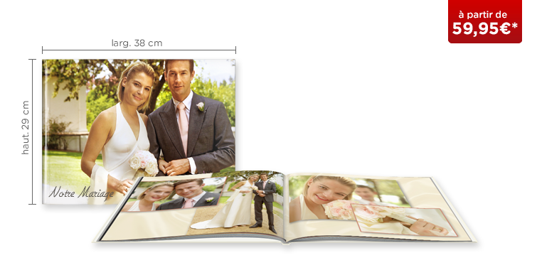 LIVRE PHOTO CEWE XXL Panorama : couverture rigide