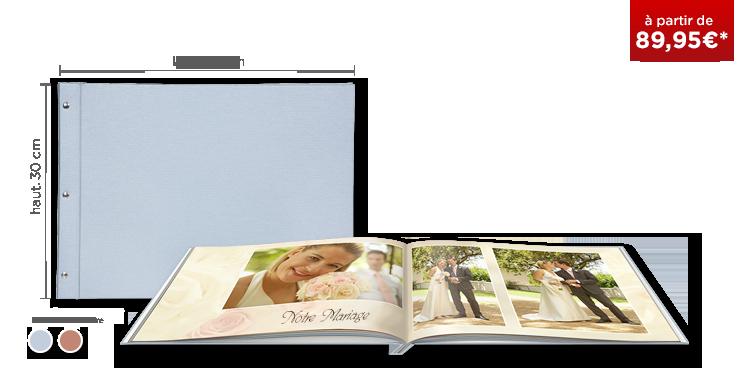 LIVRE PHOTO CEWE XXL Panorama : couverture toile Premium