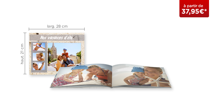 LIVRE PHOTO CEWE A4 Panorama : papier mat Premium