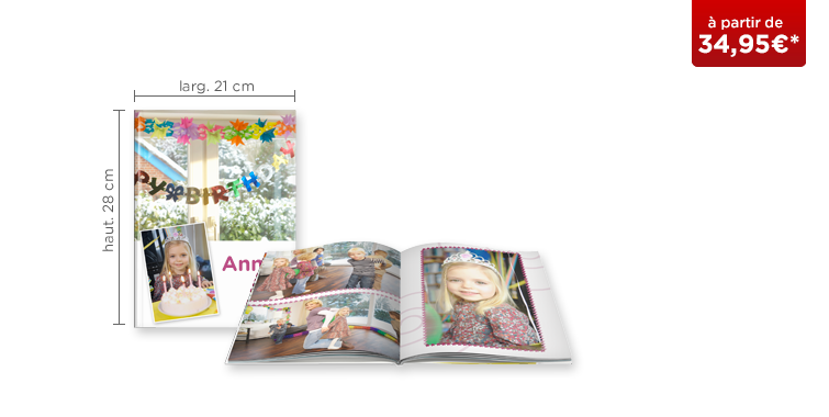 LIVRE PHOTO CEWE A4 Portrait : papier mat Premium