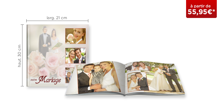 LIVRE PHOTO CEWE XL : papier mat Premium