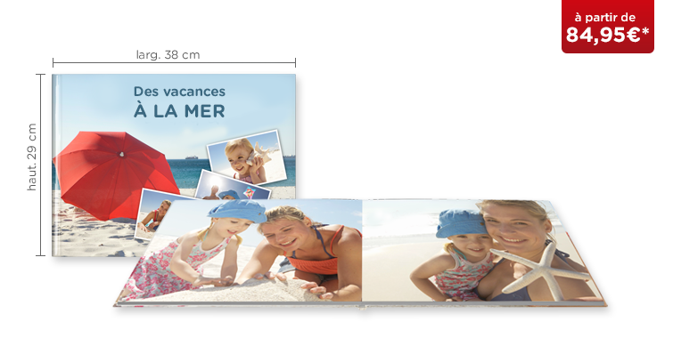 LIVRE PHOTO CEWE XXL Panorama : papier photo mat