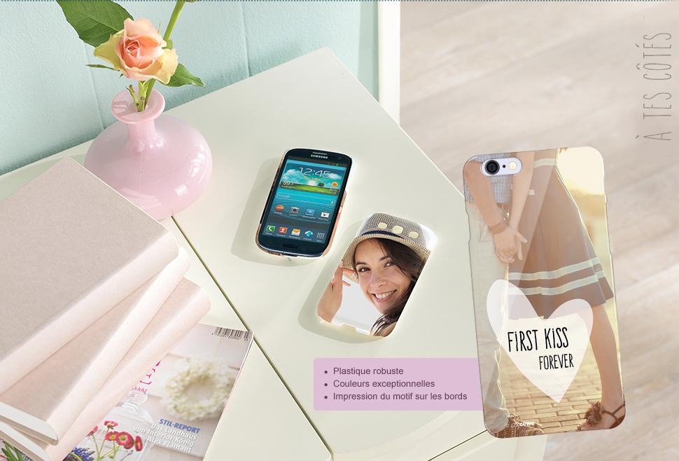 Coques premium pour smartphones
