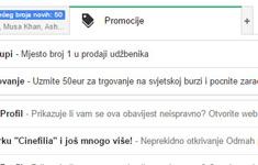 Gmail - Promóciók fül