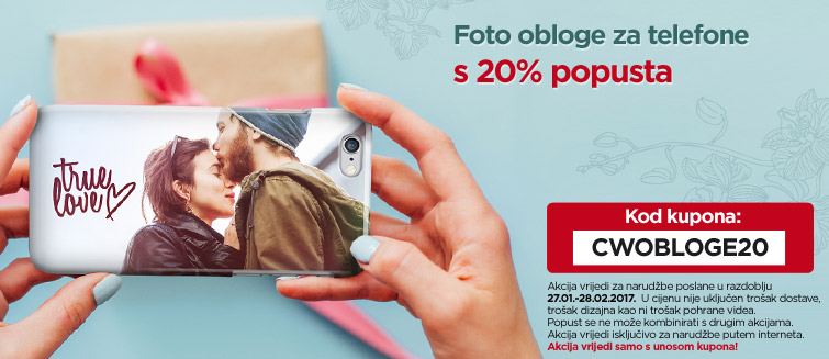 Foto obloge za telefone s 20% popusta