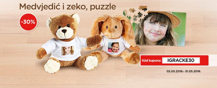 Plišane igračke i puzzle