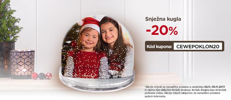 Snježna kugla -20%