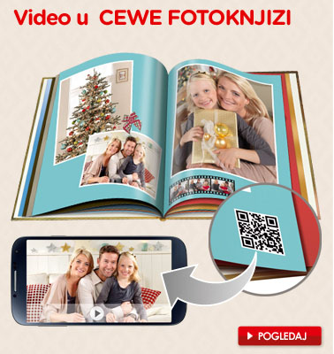 Video u Cewe Fotoknjiga