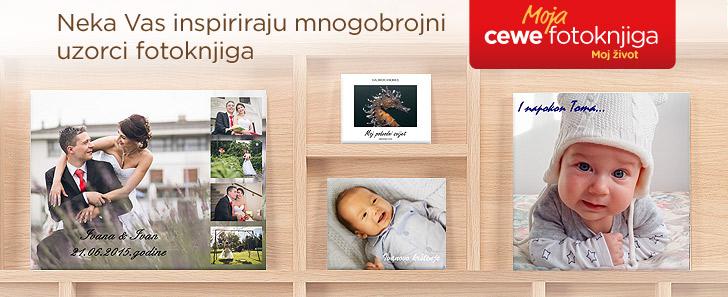 Uzorci CEWE Fotoknjiga natječaja