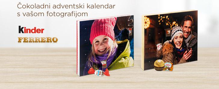Čokoladni adventski kalendari s vašom fotografijom