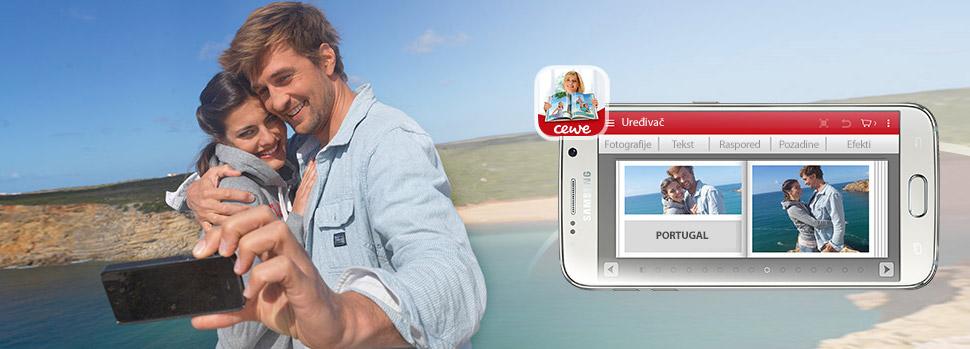 Naručivanje CEWE proizvoda s mobilnom aplikacijom