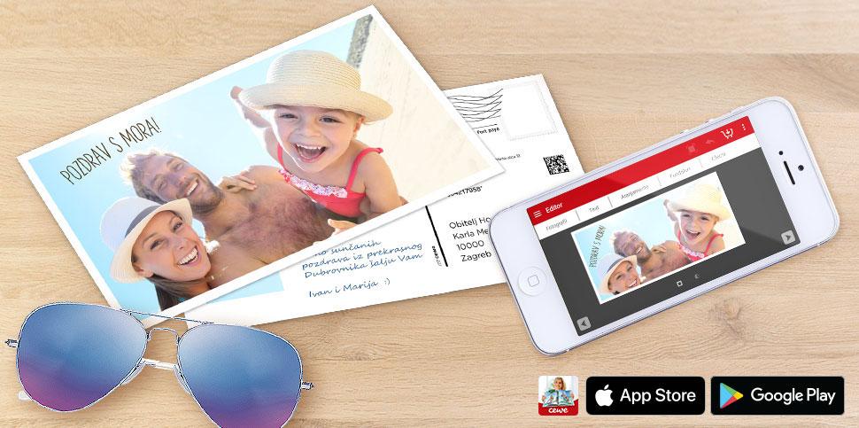 Svoju omiljenu fotografiju s ljetovanja pretvorite u razglednicu i iznenadite najdraže!