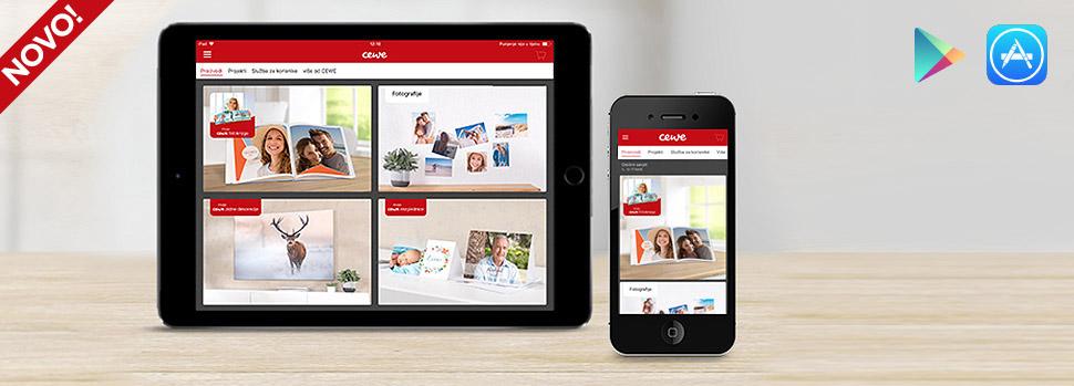 Naručivanje CEWE proizvoda putem mobilne aplikacije