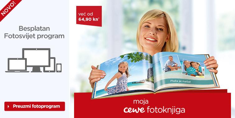 Izrada CEWE Fotoknjiga - Cewe.hr