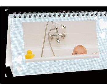 Vaše najdraže fotografije na 12+1 kalendarskim stranicama Stolnog podesivog kalendara