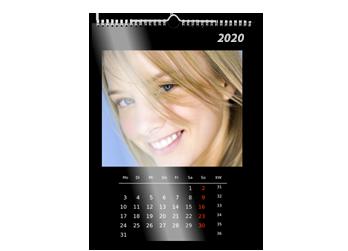 A2 Zidni kalendar- uzorak
