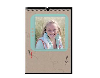 Vaše fotografije na 12+1 A3 kalendarskim stranicama - 3 mjeseca/ stranica