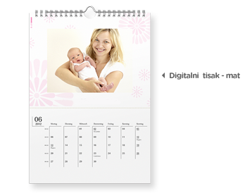 A3 Zidni kalendar